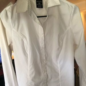 *NWOT* White Blouse/ Dress Shirt